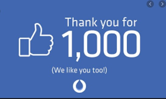 1000+ Thanks to you….