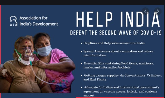 'Help India' – You can make a difference..