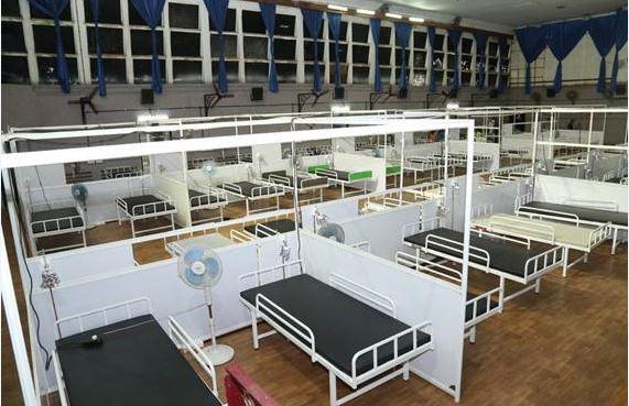 കൊച്ചി: രാജ്യത്തെ ഏറ്റവും വലിയ താല്ക്കാലിക ചികില്സാ കേന്ദ്രം എറണാകുളത്ത് തുടങ്ങി