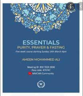 """""""Essentials – Purity, Prayer and Fasting""""- MMCWA വെബിനാർ മാർച്ച് 14ന് 4 മണിക്ക്"""